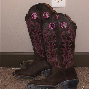 Tony Lama high cowboy boots sz 6.5